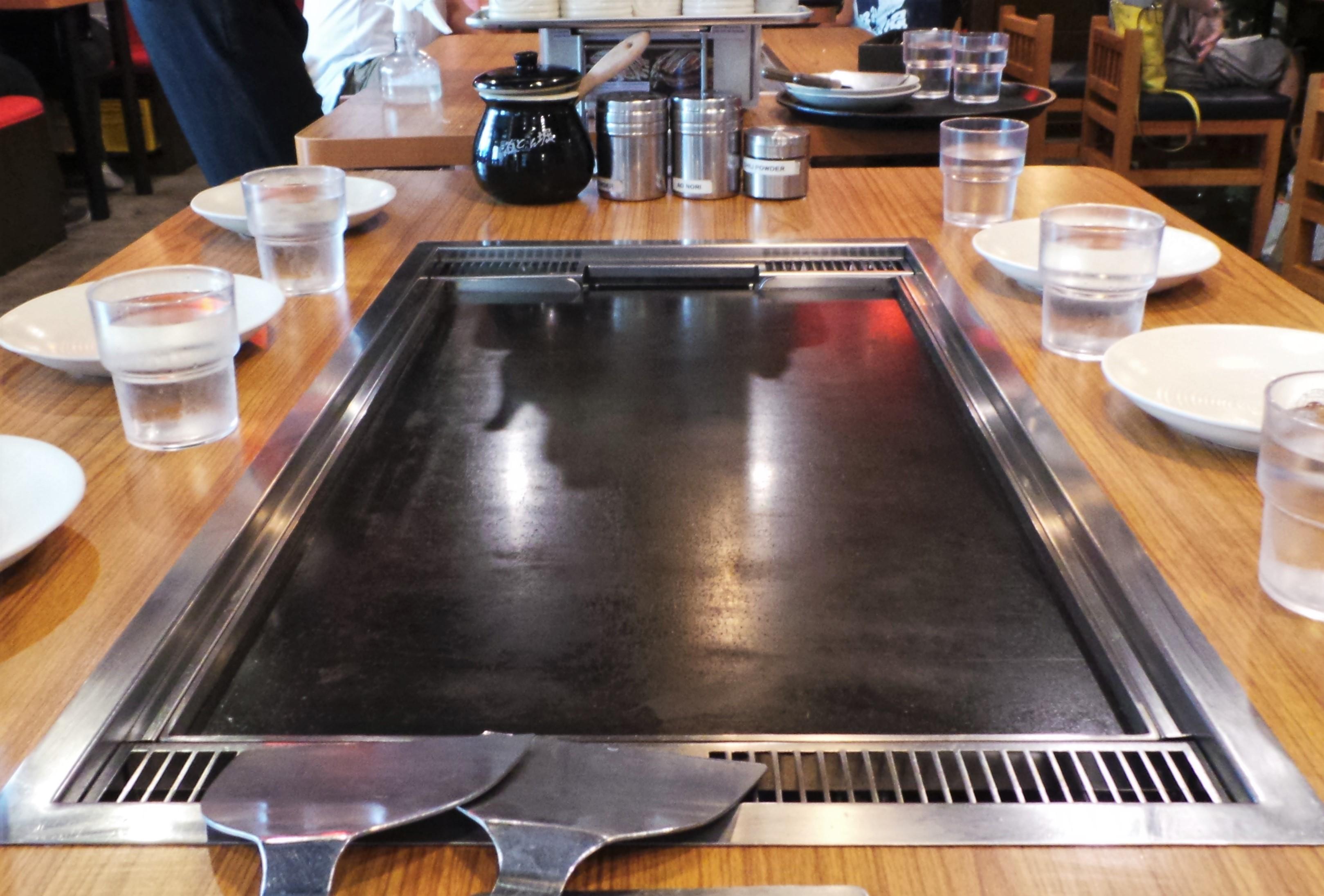 Japanese Grill, Okonomiyaki, Dohtonbori, Osaka, San Juan, 8 Missouri, Greenhills